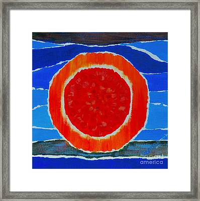 The Light Framed Print by Seema Kumar