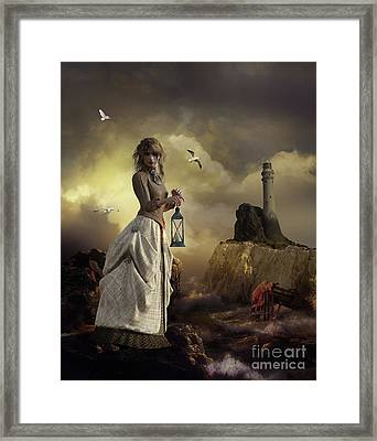The Lighthouse Keeper's Daughter Framed Print by Shanina Conway