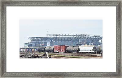 The Linc From The Other Side Of The Tracks Framed Print by Bill Cannon