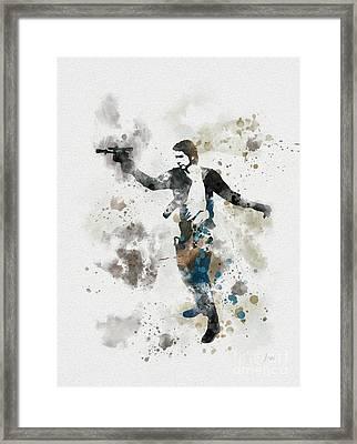 The Loner Framed Print by Rebecca Jenkins