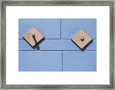 The Long And Short Of It Framed Print by Paul Wear