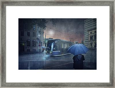 The Long Goodbye 5 Framed Print by Adrian Donoghue