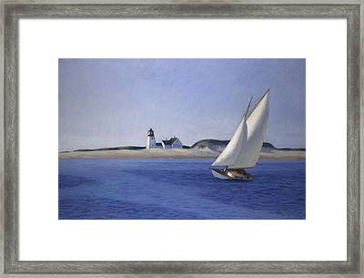 The Long Leg Framed Print by Edward Hopper