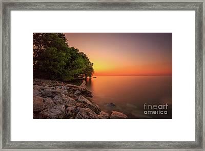 The Long Rise Framed Print by Andrew Slater