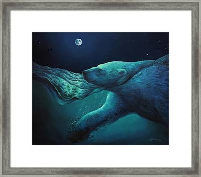 The Longest Night Framed Print by Lucy West
