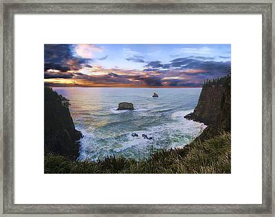 The Lookout Framed Print by James Heckt