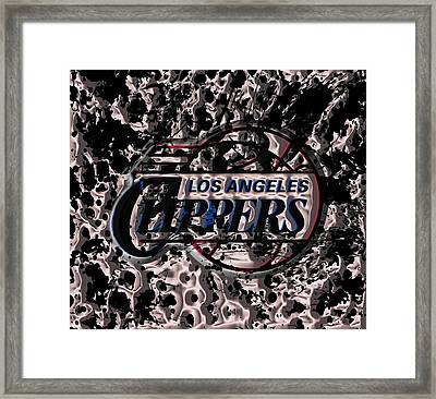The Los Angeles Clippers Framed Print by Brian Reaves