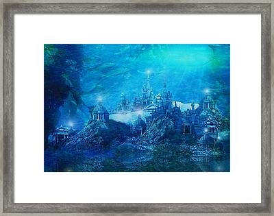 The Lost City Framed Print by Mary Hood