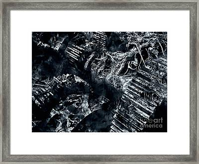 The Machine Framed Print by Jason Ince