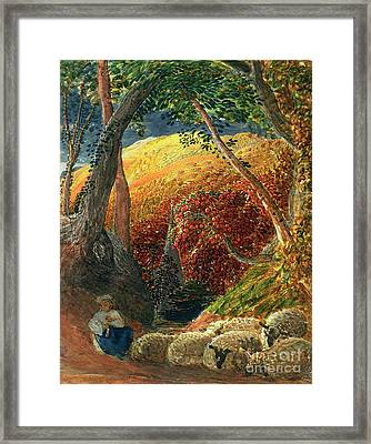 The Magic Apple Tree Framed Print by Samuel Palmer
