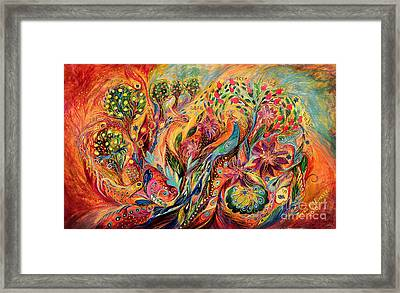 The Magic Garden Framed Print by Elena Kotliarker
