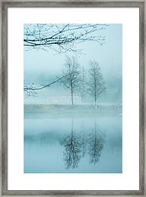 The Magic In The Fog Framed Print by Mirra Photography