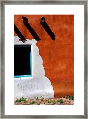 The Magic Of Santa Fe Framed Print by Susanne Van Hulst