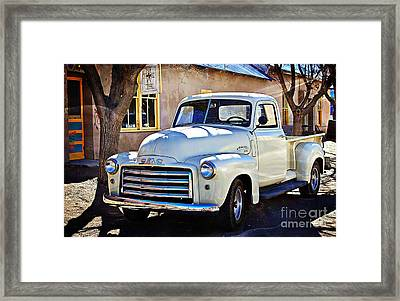 The Magic Of The 1949 Gmc 100 Framed Print by Barbara Chichester