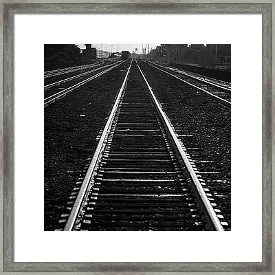 The Main Line Framed Print by Marvin Spates