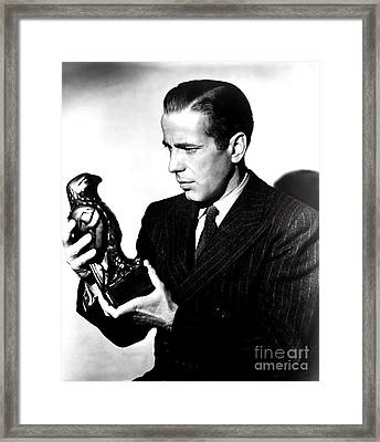 The Maltese Falcon Framed Print by Pd
