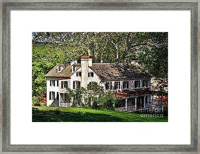 The Mansion At Hopewell Furnace Framed Print by Olivier Le Queinec