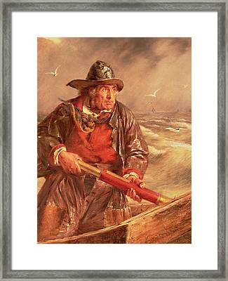The Mariner Framed Print by Erskine Nicol