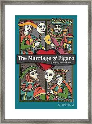 The Marriage Of Figaro Framed Print by Joe Barsin