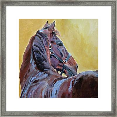 The Masters Framed Print by Anne West