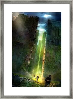 The Maze Runner Framed Print by Philip Straub