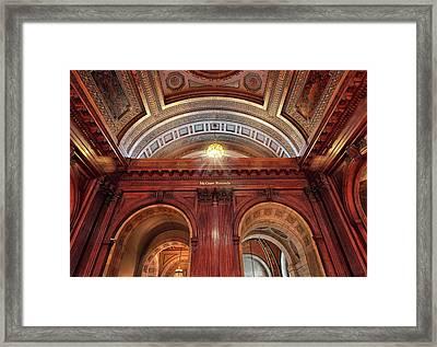 The Mcgraw Rotunda Framed Print by Jessica Jenney