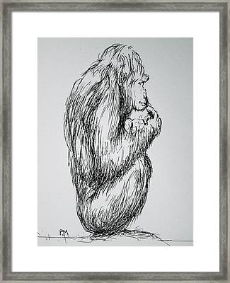 The Meaning Of Life Framed Print by Pete Maier