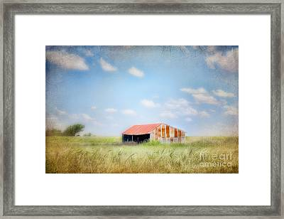The Meeting Place Framed Print by Betty LaRue
