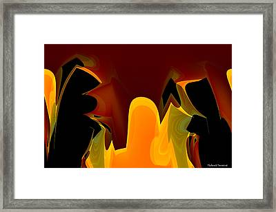 The Meeting Framed Print by Thibault Toussaint