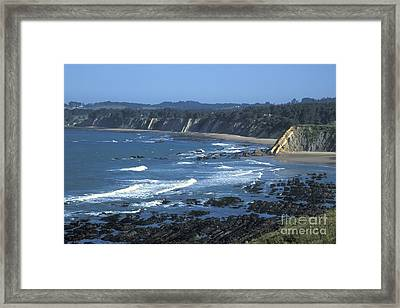The Mendocino Coast Framed Print by Stan and Anne Foster