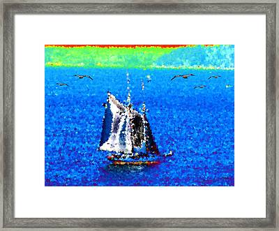 The Messengers Framed Print by Tim Allen