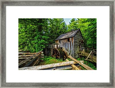 The Mill Framed Print by Debra and Dave Vanderlaan