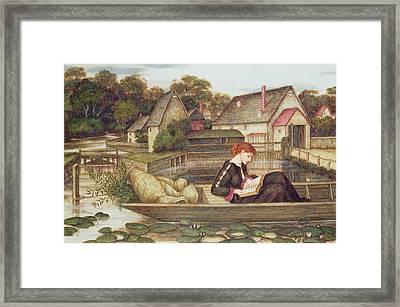 The Mill Framed Print by John Roddam Spencer Stanhope