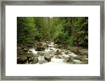 The Miller River  Framed Print by Jeff Swan
