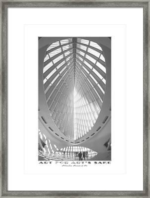 The Milwaukee Art Museum Framed Print by Mike McGlothlen