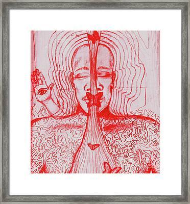 The Minds Eye Framed Print by Elizabeth Hoskinson
