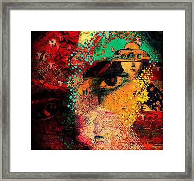 The Mind's Eye Framed Print by Jeff Burgess
