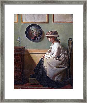 The Mirror  Framed Print by William
