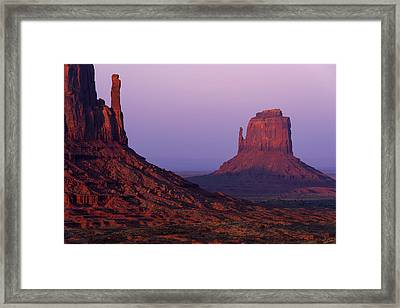 The Mittens Framed Print by Chad Dutson