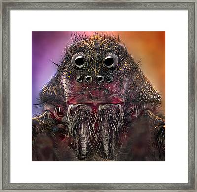 The Monster Framed Print by Jorge Fardels