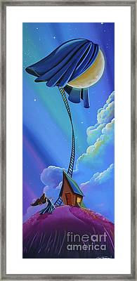 The Moon Keeper Framed Print by Cindy Thornton