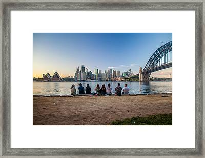 The Morning After Framed Print by Az Jackson