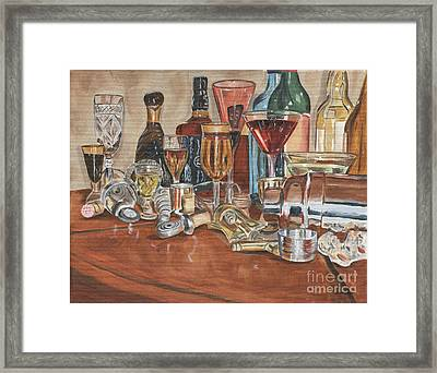 The Morning After Framed Print by Debbie DeWitt