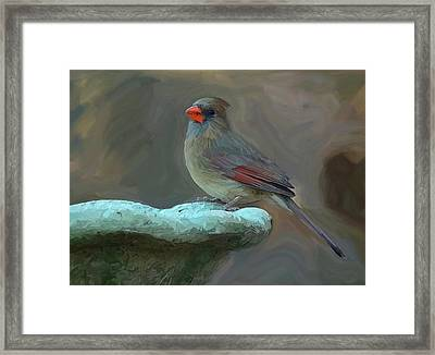 The Mother Card Framed Print by Patti Siehien
