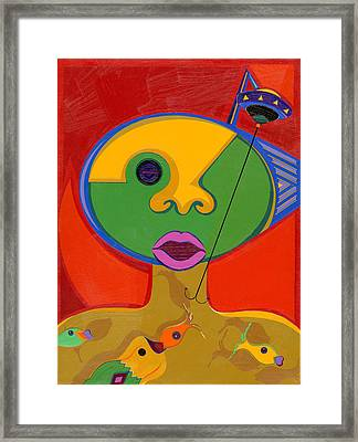 The Mother Ship Framed Print by Ruby Persson