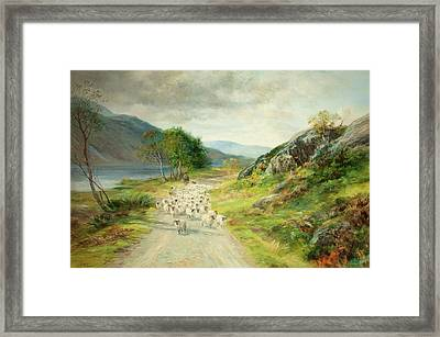 The Mountains Of Moidart Framed Print by John MacWhirter