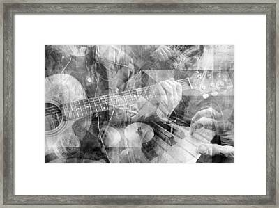 The Musicians Framed Print by Mal Bray