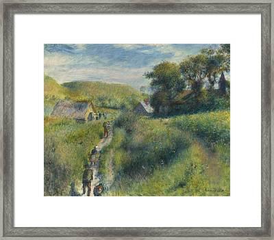 The Mussel Harvest Framed Print by Pierre Auguste Renoir