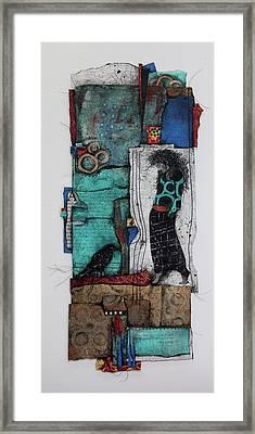 The Mystic  Framed Print by Laura Lein-Svencner