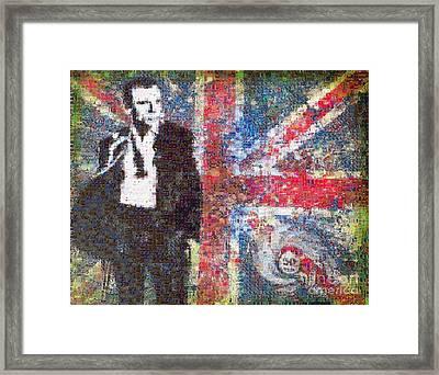 The Name's Bond Framed Print by Sara Sutton